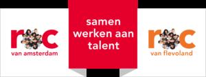 Logo ROC van Amsterdam – Flevoland
